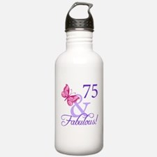75 And Fabulous Water Bottle