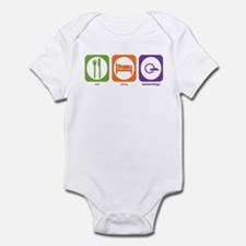 Eat Sleep Meteorology Infant Bodysuit