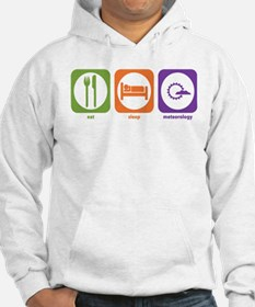 Eat Sleep Meteorology Hoodie