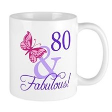 80 And Fabulous Mug