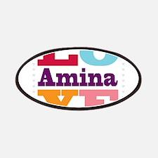 I Love Amina Patches
