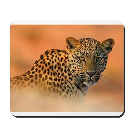 Golden Jaguar Mousepad
