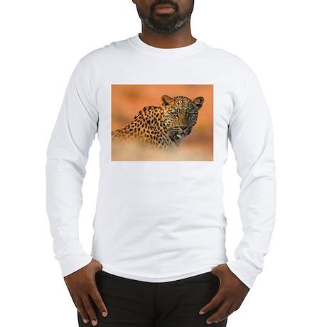 Golden Jaguar Long Sleeve T-Shirt