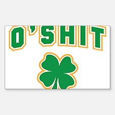 OShit Sticker (Rectangle)