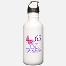 65 And Fabulous Water Bottle