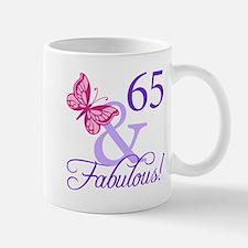 65 And Fabulous Mug