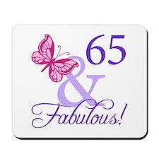 65 And Fabulous Mousepad