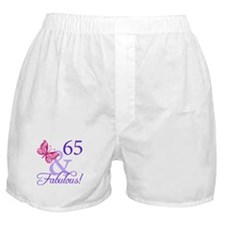 65 And Fabulous Boxer Shorts
