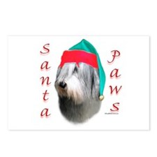 Santa Paws Polish Lowland Postcards (Package of 8)