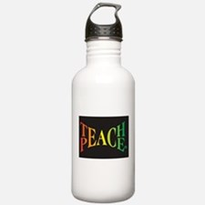 Teach Peace Water Bottle