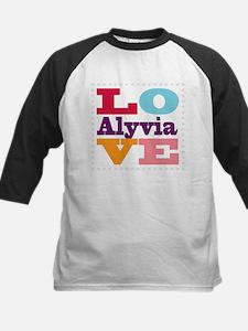 I Love Alyvia Tee