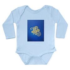Bombay Blue Long Sleeve Infant Bodysuit