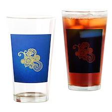 Bombay Blue Drinking Glass