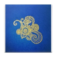 Bombay Blue Tile Coaster
