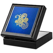 Bombay Blue Keepsake Box