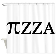 PI zza Shower Curtain