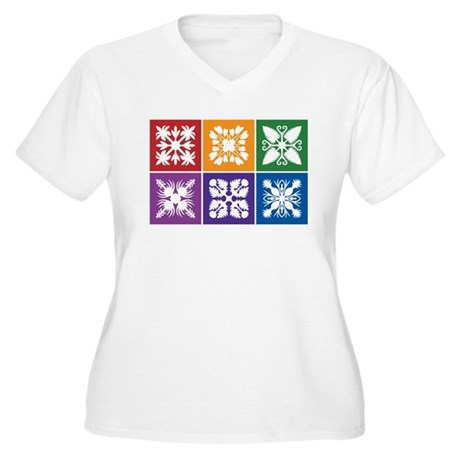 2-WhiteTeeDesign-DeeperColors Plus Size T-Shirt