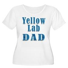 Yellow Lab Dad T-Shirt