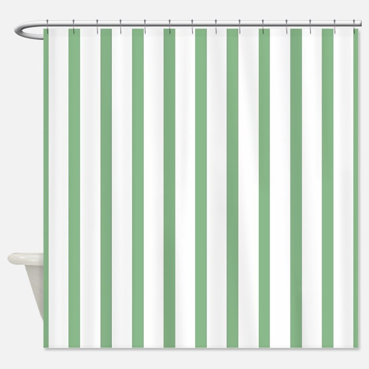 white and mint green stripe shower curtains white and mint green stripe fabric shower curtain. Black Bedroom Furniture Sets. Home Design Ideas