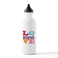 I Love Aliyah Water Bottle