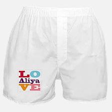 I Love Aliya Boxer Shorts