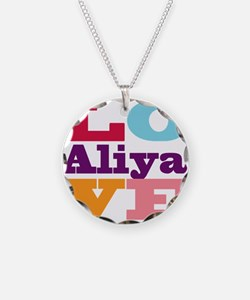 I Love Aliya Necklace