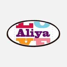 I Love Aliya Patches