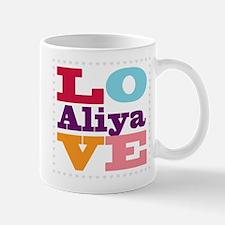 I Love Aliya Mug