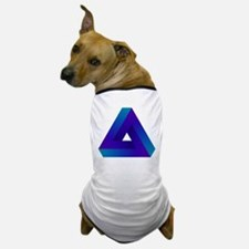 Optical illusion triangle. Dog T-Shirt