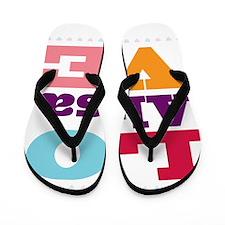 I Love Alisa Flip Flops