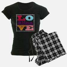 I Love Alina Pajamas