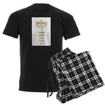 Keep calm and carry on Hearts Crown Men's Dark Paj