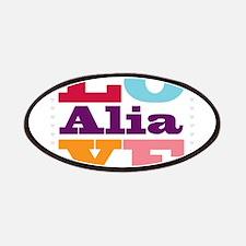 I Love Alia Patches