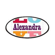 I Love Alexandra Patches