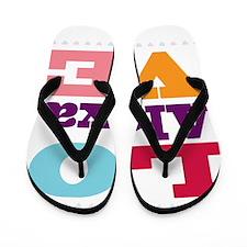 I Love Alexa Flip Flops