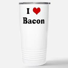 Cool I heart bacon Travel Mug