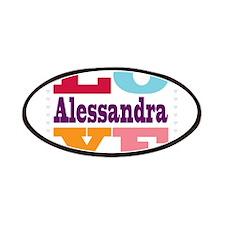 I Love Alessandra Patches