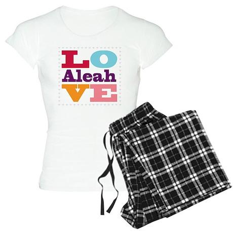 I Love Aleah Women's Light Pajamas