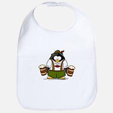 Oktoberfest Boy Penguin Bib