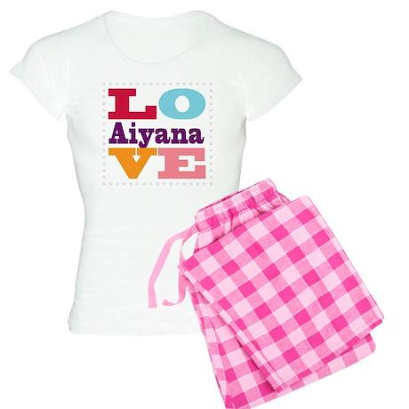 I Love Aiyana Women's Light Pajamas