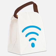FREE Wireless Internet Canvas Lunch Bag
