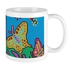 Butterfly Gathering Tree Of Life Mug