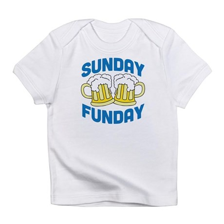 Sunday Funday Drinking Shirt Infant T-Shirt