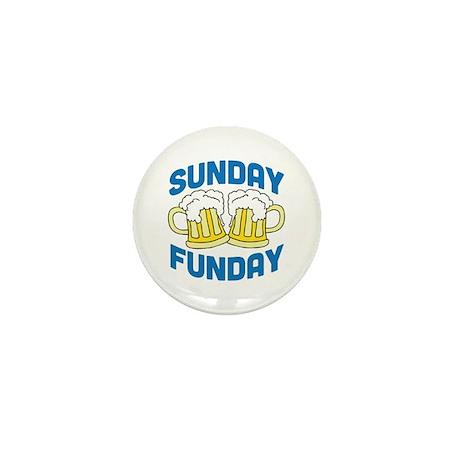 Sunday Funday Drinking Shirt Mini Button