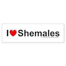 Shemales Bumper Sticker