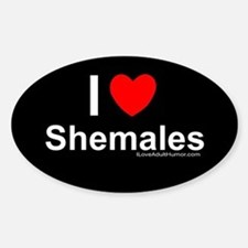 Shemales Decal