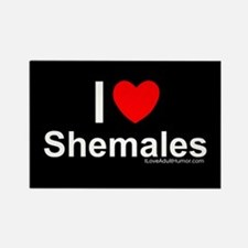 Shemales Rectangle Magnet