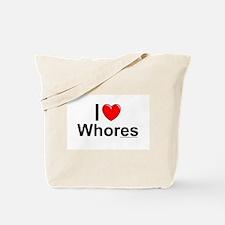 Whores Tote Bag