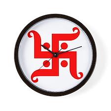swastika Wall Clock