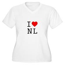 I Heart Newfoundland and Labrador T-Shirt